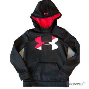 Girls Under Armour light weight hoodie